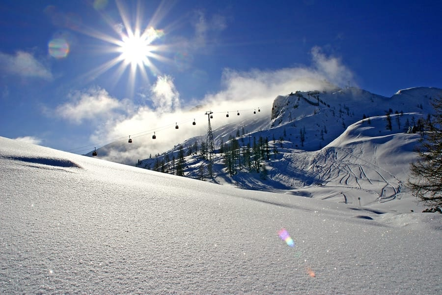 Ski package 4 day sun shine skiing